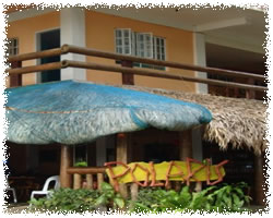 Pagudppud Polaris Beach Resort  main entrance